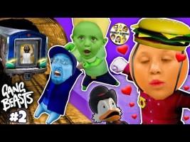 Ducktales Treasure Challenge Gang Beasts Vs Fgteev Hot Dog Part